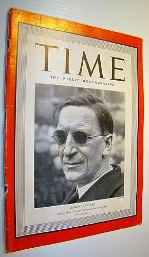 Time Magazine, March 25, 1940 - Cover Photo of Eamon De Valera: Contributors, Multiple
