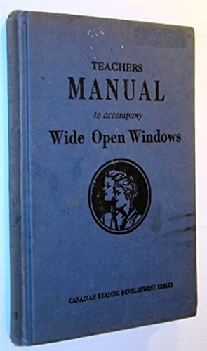 Teachers Manual to Accompany Wide Open Windows: Barrett, Franklin L.