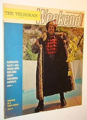 Weekend Magazine, 28 August 1971 (Canadian Newspaper Insert) - 600,000 Canadian 'Settlers' ...
