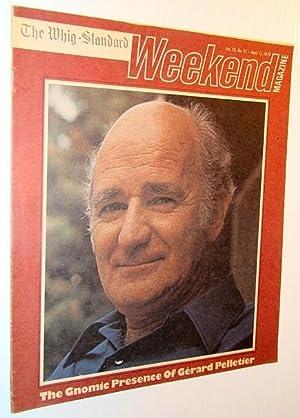 Weekend Magazine, 13 September 1975 (Canadian Newspaper Insert) - Gerard Pelletier Cover Photo: ...