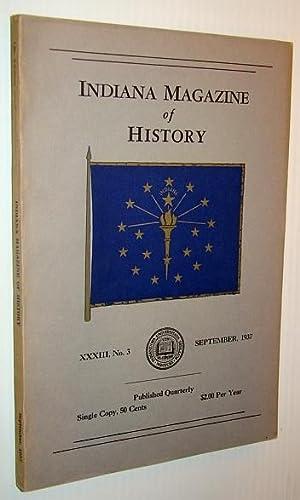 Indiana Magazine of History, September 1937: Barnhart, John D.;