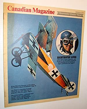 Canadian Magazine, November 18, 1967 - The: Proudfoot, Dan; Pearson,