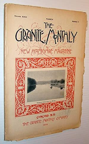 The Granite Monthly - A New Hampshire: Scammon, R.M.; Lawrence,