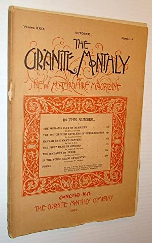 The Granite Monthly - A New Hampshire: Graves, Ida J.;