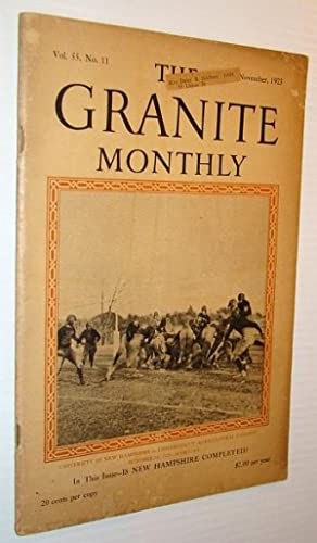 The Granite Monthly - A New Hampshire: Rossiter, William S.;