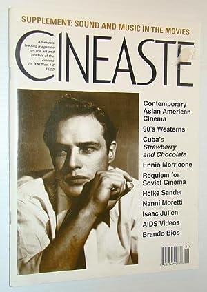 Cineaste - America's Leading Magazine on the Art and Politics of the Cinema, Vol. XXI Nos. 1-2 ...