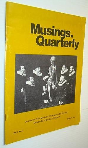 Musings Quarterly - Vol. 1, No. 4: Lindbert, Ted; Gibbs,