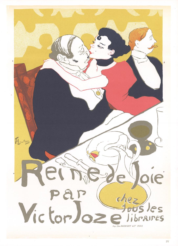 Henri de Toulouse-Lautrec-Reine de Joie par Victor Joze-1966 Mourlot Lithograph: Toulouse-Lautrec, ...