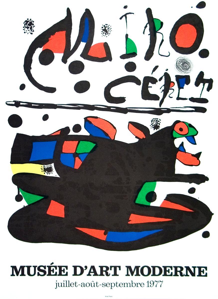 Joan Miro-Ceret-1977 Lithograph: Miro, Joan