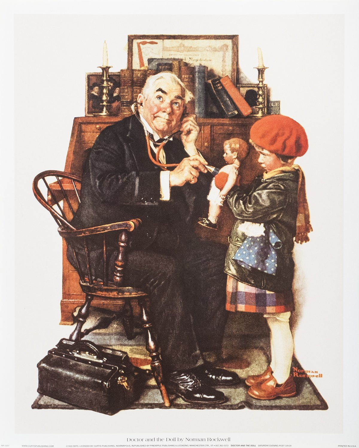 Norman Rockwell Doctor And The Doll 15