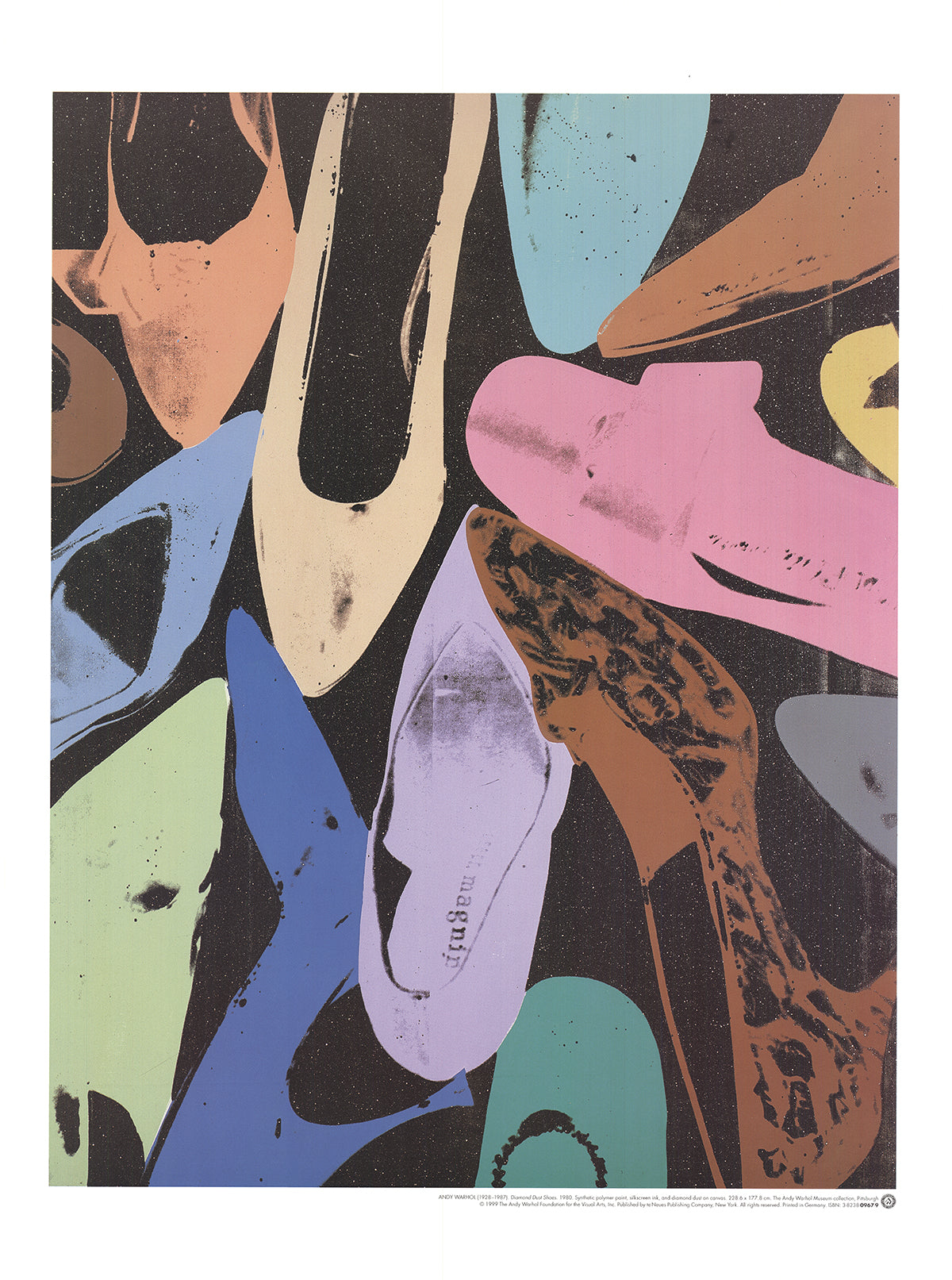 Andy Warhol-Diamond Dust Shoes-1999 Poster