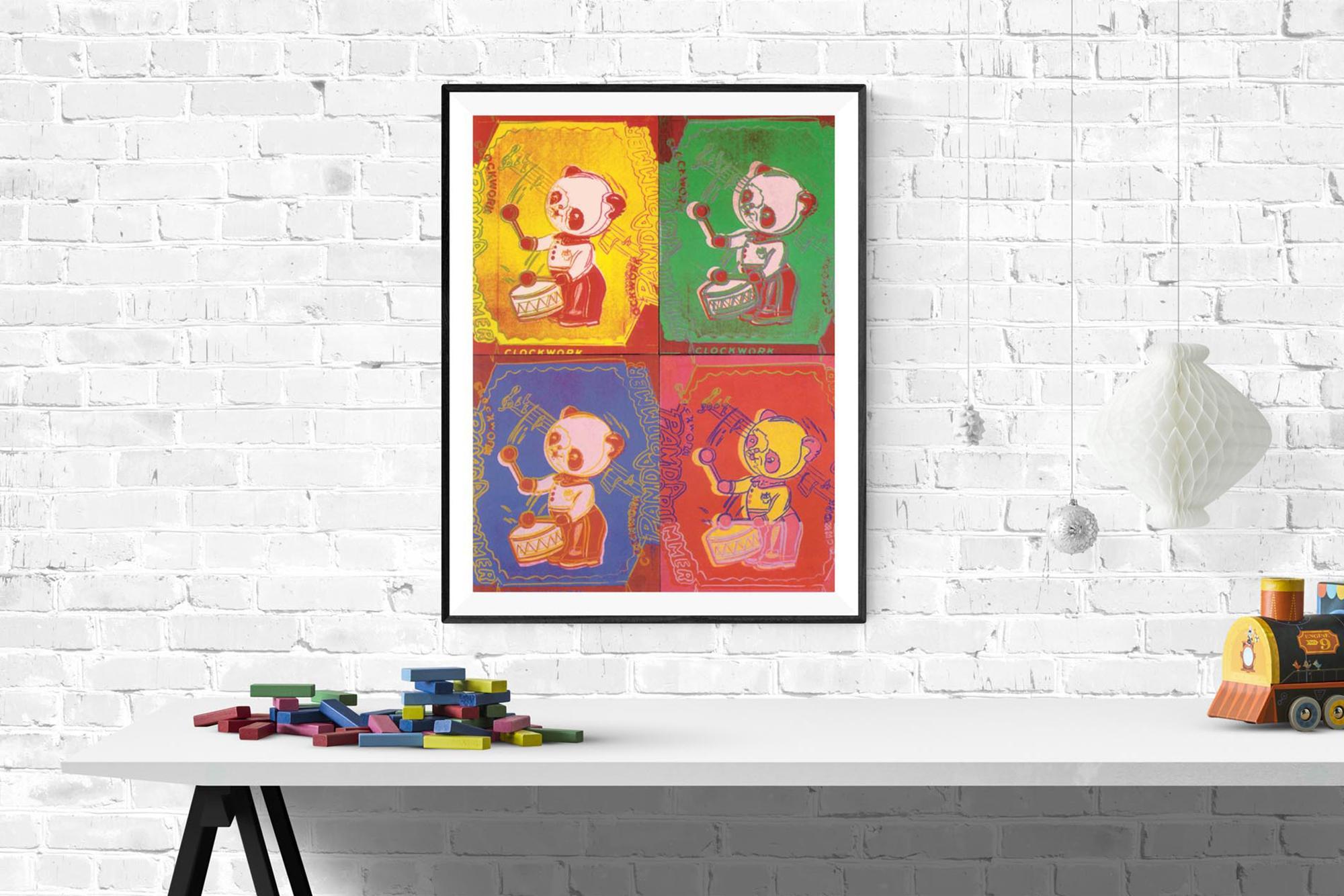 Lg Andy Warhol-Four Pandas -1990 Poster
