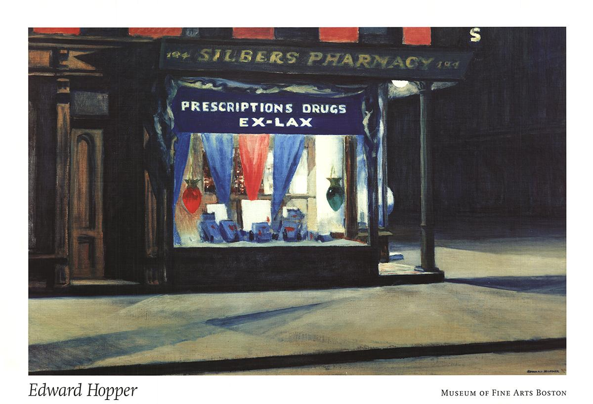 edward hopper poster