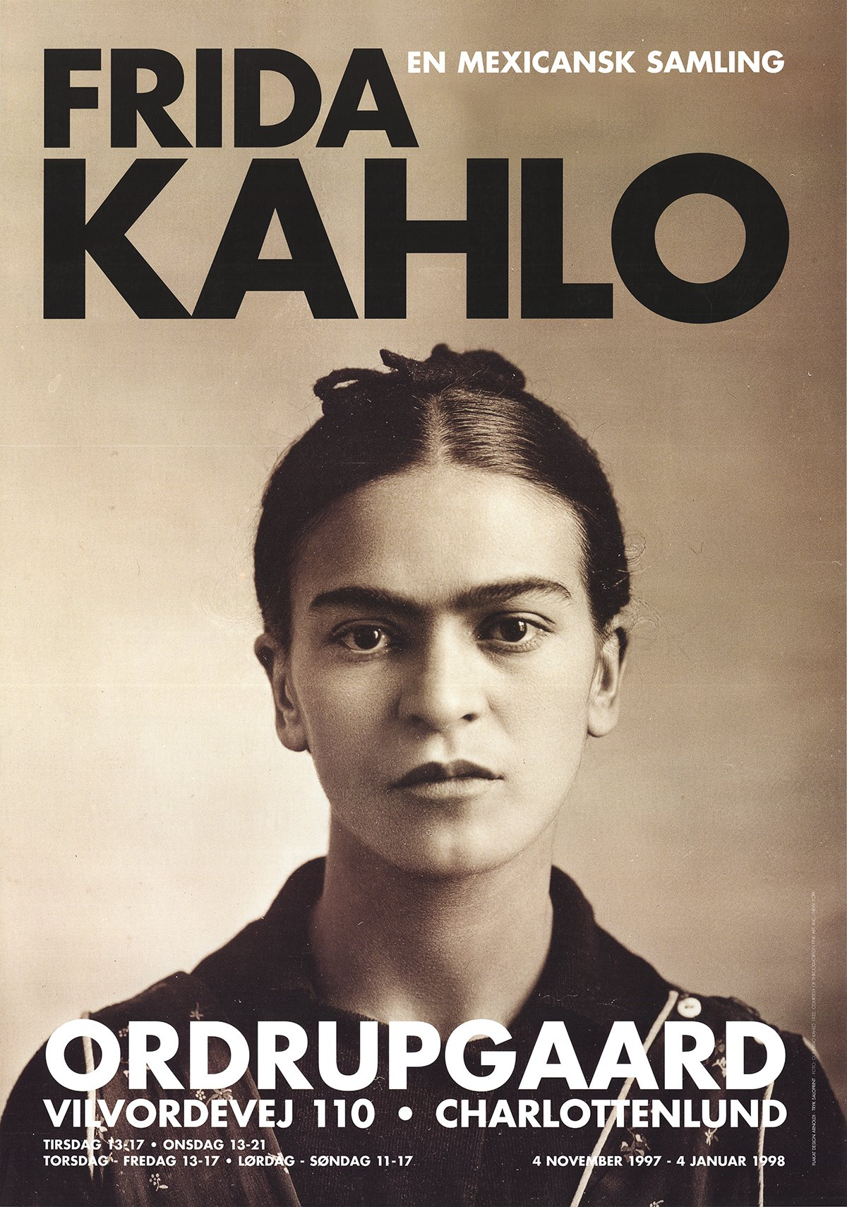 -1997 Poster Guillermo Kahlo-Frida Kahlo 1932