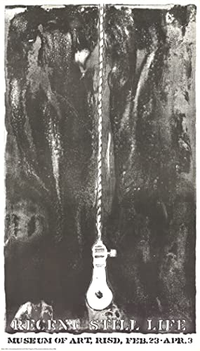 Jasper Johns-Recent Still Life (Light Bulb)-1968 Lithograph: Johns, Jasper