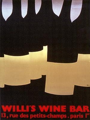 Alberto Bali-Willi's Wine Bar-1982 Lithograph: Bali, Alberto