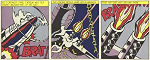 Roy Lichtenstein-As I Opened Fire (Triptych)-1997 Poster