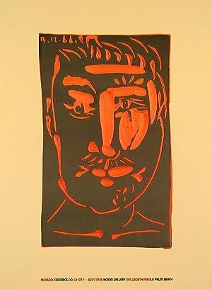 Pablo Picasso-Ceramic-1975 Poster: Picasso, Pablo