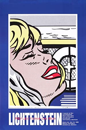 Roy Lichtenstein-Shipboard Girl-1995 Poster
