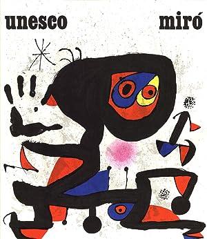 Joan Miro-Unesco-Droits de L'Homme-1974 Lithograph: Miro, Joan