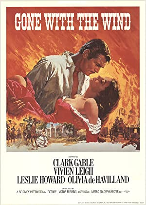 1983 Gone with the Wind Poster: Unknown