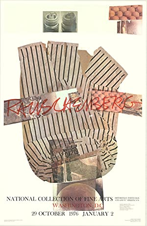 Robert Rauschenberg-National Collection of Fine Arts-1976 Poster