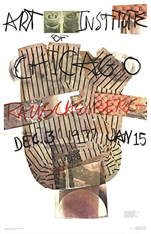 Robert Rauschenberg-Art Institute of Chicago-1976 Poster