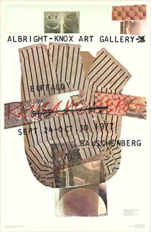 Robert Rauschenberg-Albright-Knox Art Gallery-1976 Poster