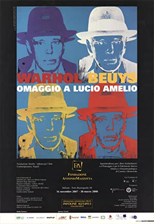 Andy Warhol-Joseph Beuys State III (sm)-2007 Poster: Warhol, Andy