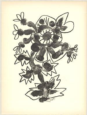 Pablo Picasso-De Memoire D'Homme II-1950 Mourlot Lithograph: Picasso, Pablo