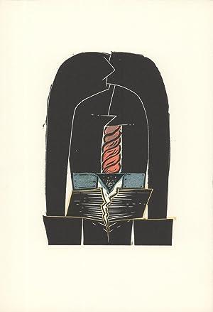 David Lynch-Land III-1973 Linocut: Lynch, David