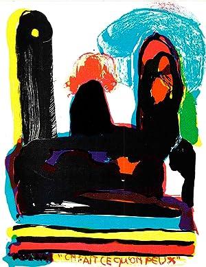 Jacqueline de Jong-On fait ce qu'on peux-1967: de Jong, Jacqueline