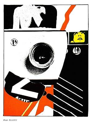 Peter Klasen-Untitled Composition-1967 Lithograph: Klasen, Peter