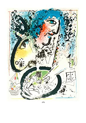 Marc Chagall-Chagall Lithographe Tome I - Frontispice-1963: Chagall, Marc