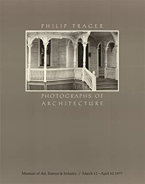Phillip Trager-Photographs of Architecture-1977 Poster: Trager, Phillip