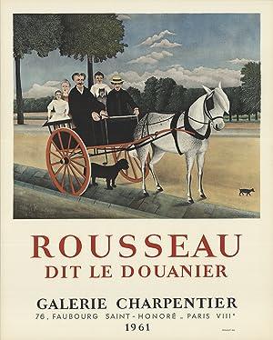 Henri Rousseau-Dit Le Douanier-1961 Mourlot Lithograph: Rousseau, Henri