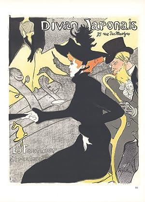 Henri de toulouse lautrec lithograph abebooks for Divan japonais poster value