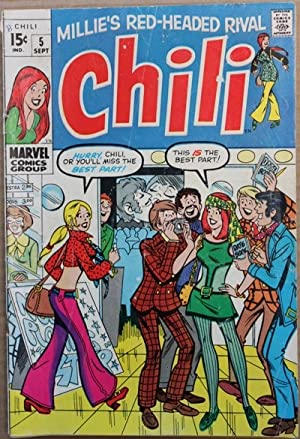 Marvel Comics: Millie's Red-Headed Rival, Chili #5-1969 Book