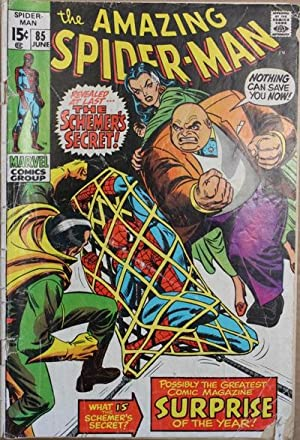 Amazing Spider-Man #85-1972 Book