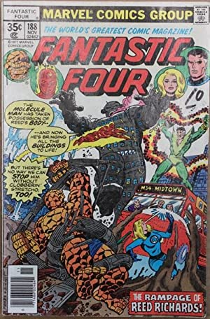 Fantastic Four #188-1977 Book