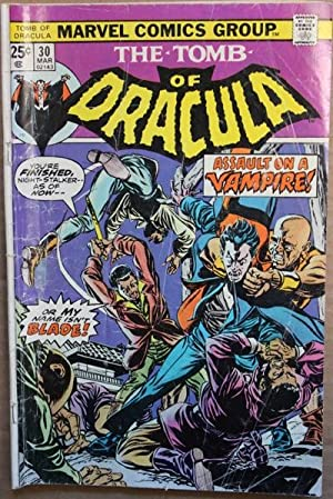 Tomb of Dracula #30-1974 Book