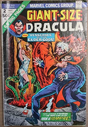 Giant-Sized Dracula #2-1974 Book