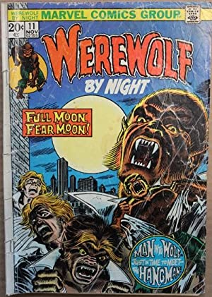 Werewolf by Night #11-1973 Book