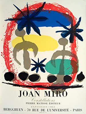 Joan Miro-Constellations-1959 Mourlot Lithograph