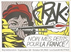 Roy Lichtenstein-Crak!-1963 Poster: Lichtenstein, Roy