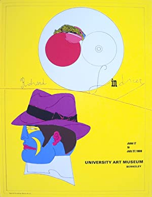 Richard Lindner-University Art Museum-1968 Serigraph: Lindner, Richard