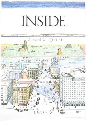 James McCaffrey-Inside San Francisco-1978 Poster: McCaffrey, James