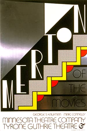 Roy Lichtenstein-Merton of The Movies-1968 Foil Print
