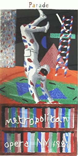 David Hockney-Harlequin from Parade-1981 Serigraph: Hockney, David