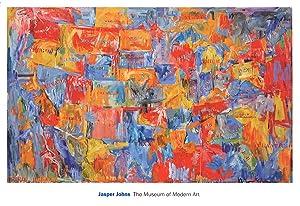 Jasper Johns-Map (lg)-2011 Poster: Johns, Jasper